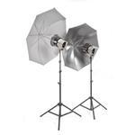 Interfit Stellar X 600 Flash Three Monolight Umbrella-Softbox Kit (120VAC)