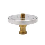 Kupo 3/8 Inch -16 Threaded Mounting Plate with Baby 5/8 Inch Stud