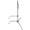 Kupo 40 inch Sliding Leg C-Stand - Silver