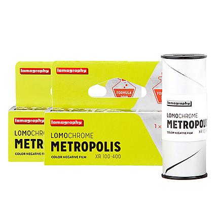 Lomography LomoChrome Metropolis 120 Single Pack