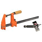 Matthews 12in Furniture Clamp w/Bar Clamp Adapter