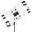 Nanlite PavoTube 15C 2FT RGBW LED Tube with Internal Battery 4 Light Kit