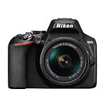 Nikon D3500 DX-Format DSLR Camera with Nikkor 18-55mm f/3.5-5.6G VR Lens