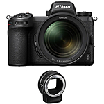 Nikon Z7 II Mirrorless Digital Camera with 24-70mm f/4 Lens  and  FTZ Adapter