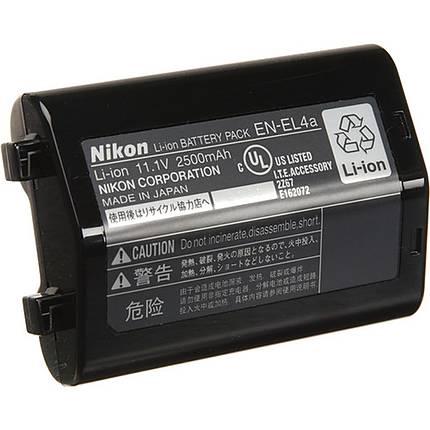 Nikon EN-EL4a Rechargeable Li-Ion Battery for Select Nikon Cameras