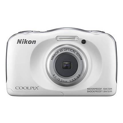 Nikon COOLPIX W100 Digital Camera - White