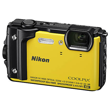 Nikon COOLPIX W300 Digital Camera (Yellow)