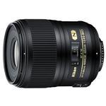 Nikon AF-S Micro Nikkor 60mm f/2.8G ED Standard Macro Lens - Black