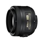 Nikon AF-S DX Nikkor 35mm f/1.8G Prime Lens for DX-format cameras - Black