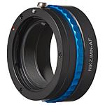 Adp SonyA/MinA lens to Nikon Z