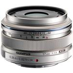 Olympus M.Zuiko Digital 17mm f/1.8 Wide Angle Prime Lens - Silver