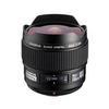 Olympus Zuiko Lens ED 8mm f3.5 Diagonal Fisheye Lens - Black