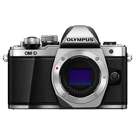 Olympus OM-D E-M10 Mark II Mirrorless Micro 4/3 Digital Camera Body - Silver