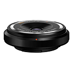 Olympus Fisheye Body Cap 9mm f/8.0 Ultra Wide Angle Lens - Black