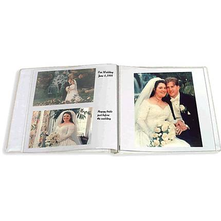 Pioneer 5 x 7 In. Refill Pages for WF5781 Wedding Photo Album (20 Photos)