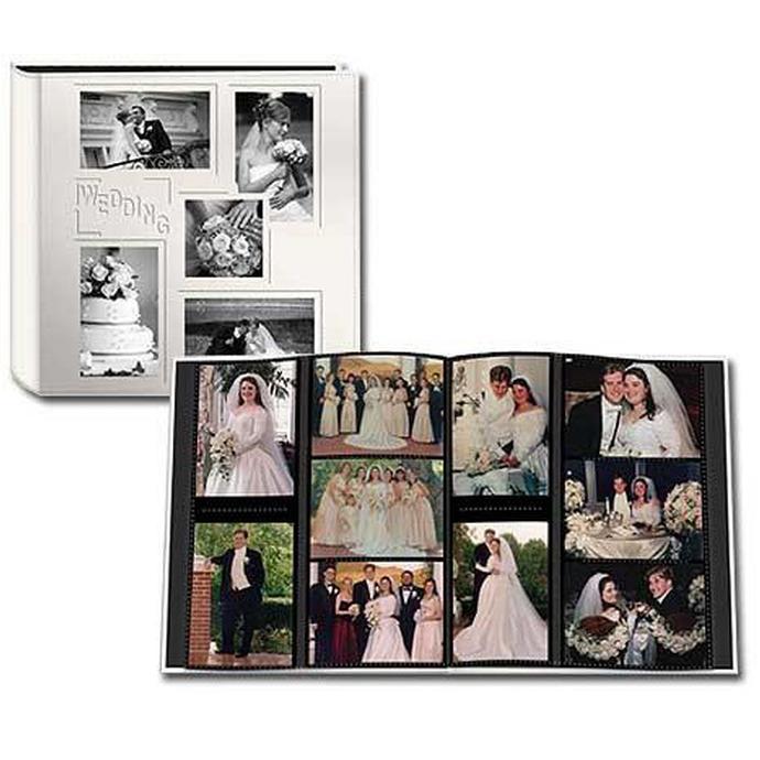 Pioneer 4 X 6 In Collage Embossed Wedding Photo Album 240 Photos