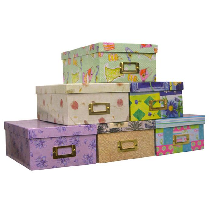 Awesome Pioneer 4 X 7 In. Designer Patterns Photo Albums Storage Box