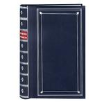 Pioneer 4 x 6 In. Bi-Directional Memo Photo Album (300 Photos) - Navy Blue