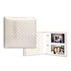 Pioneer 4 x 6 In. Wedding Ribbon Photo Album w/ Diamond Accents (200 Photos)