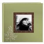 Pioneer 4 x 6 In. Designer Raised Frame Photo Album (200 Photos) - Leaves