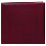 Pioneer 12 x 12 In. Top Loading Leatherette Cover Scrapbook - Burgundy