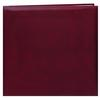 Pioneer 12 x 12 In. Top Loading Leatherette Cover Scrapbook - Burgundy