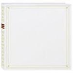 Pioneer 4 x 6 In. Full Size Memo Pocket Photo Album (300 Photos) - White