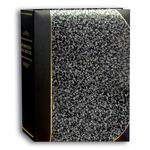 Pioneer 5 x 7 In. Ledger Bi-Directional Photo Album (200 Photos) - Silver