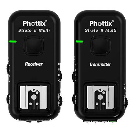 Phottix Strato II Multi 5-in-1 Trigger Set for Canon (all cables)