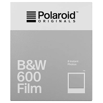 Polaroid B and W Film for 600