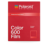 Polaroid Color Film for 600-Metallic Red Frame Edition
