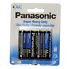 Panasonic Super Heavy Duty AA 4-Pack Batteries