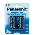 Panasonic Heavy Duty C Batteries 2 Pack