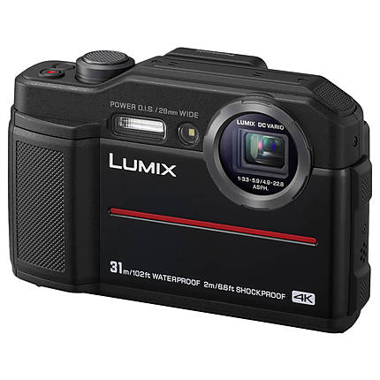 Panasonic Lumix DC-TS7 Waterproof Digital Camera (Black)