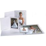 Unique Photomounts 5x7 Wood Grain Gray Folder (25)