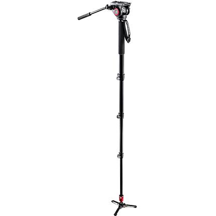 Manfrotto Pro Fluid Monopod with MVH500AH