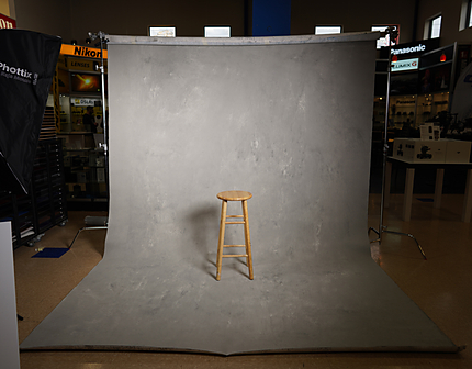 Gravity Light Gray Painted Backdrop 9.2 ft. x 13 ft.