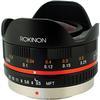 Rokinon 7.5mm f/3.5 Ultra Wide-Angle Fisheye Lens for Micro 4/3 (Black)