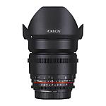 Rokinon 16mm T2.2 APS-C Cine DS Lens for Canon EF-S