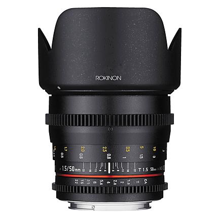 Rokinon 50mm T1.5 Cine DS Lens for Canon EF
