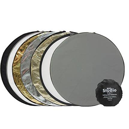 RPS 32 Inch 7-In-1 Collapsible Reflector With Carry/Storage Pouch