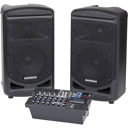 Samson Expedition XP800 - 800W Portable PA System