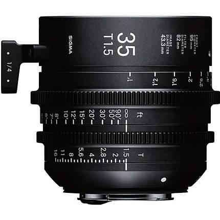 Sigma 35mm T1.5 FF High-Speed Prime Lens (ARRI PL, Metric)