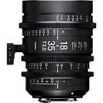 Sigma 18-35mm T2 Fully Luminous High-Speed Zoom Lens (PL)