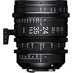 Sigma 24-35mm T2.2 Fully Luminous FF Zoom Lens (Sony E)