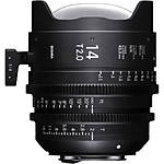 Sigma 14mm T2 Fully Luminous FF High-Speed Prime Lens (PL)