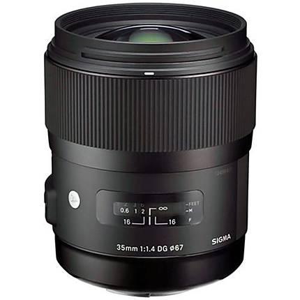 Sigma DG HSM ART 35mm f/1.4 Standard Lens for Canon - Black