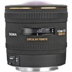 Sigma EX DC HSM Circular 4.5mm f/2.8 Fisheye Lens for Nikon Mount - Black