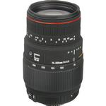 Sigma APO DG Macro 70-300mm f/4-5.6 Telephoto Zoom Lens - Black