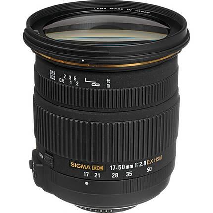 Sigma EX DC (OS) HSM 17-50mm f/2.8 Standard Zoom Lens for Nikon - Black